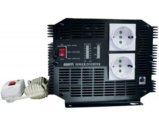 Inversores tensión 24 V / 220 V - 4000 W